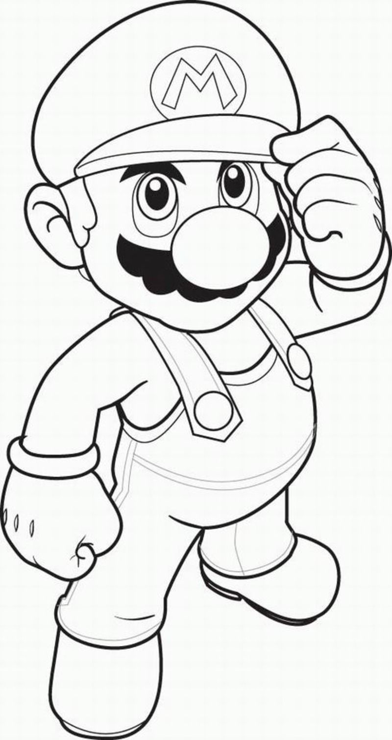 Coloriages divers mario bross - Coloriage mario bross ...